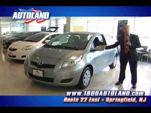 2010 Toyota Yaris Available At Autoland In Springfield Nj