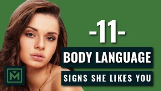 11 Body Language Signs She