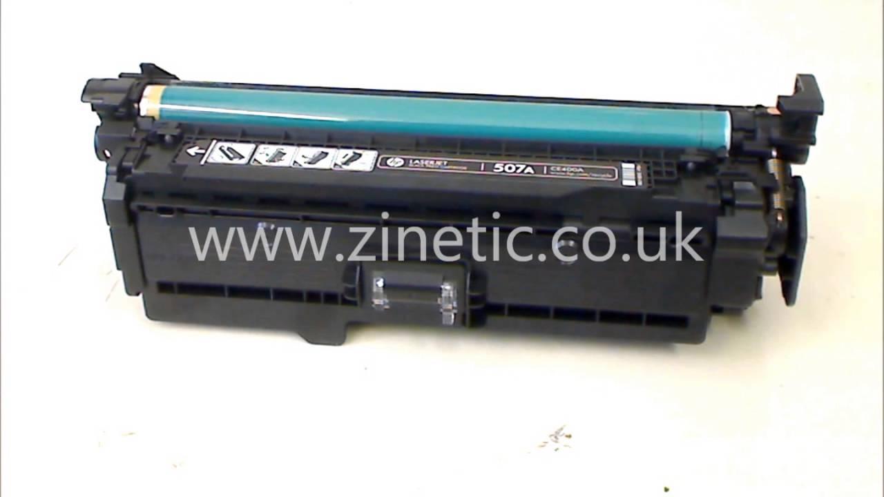 How to refill and reset the HP CE400A CE400X CE401A CE402A CE403A cartridge