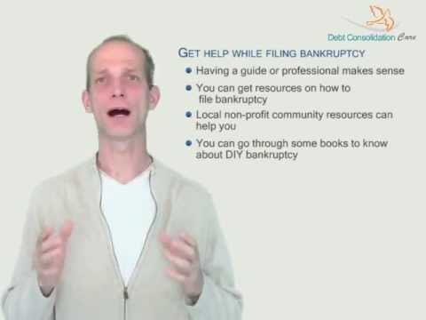 DIY Bankruptcy -- Know The Various Steps To Discharge Your Debts