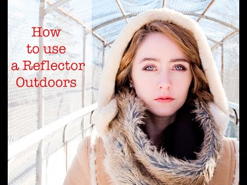 Outdoor Portrait Photography Tutorial How To Use Reflector In
