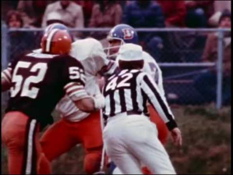 1978 Broncos at Browns Game 11