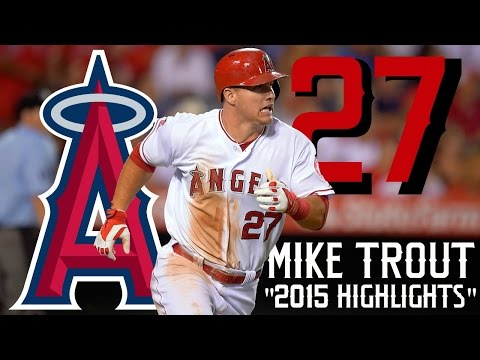Mike Trout | 2015 Angels Highlights ᴴᴰ