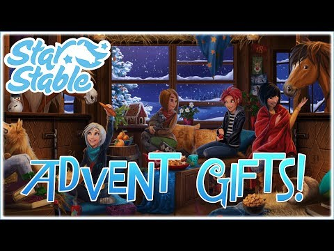 The Advent Gifts Are Here!! • Star Stable Online: Magical Christmas Market