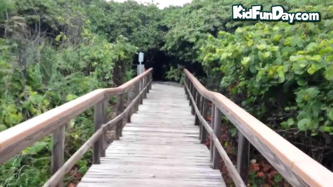 Beautiful Ocean Ridge Hammock Park Beach || A Video Tour || Kidfunday