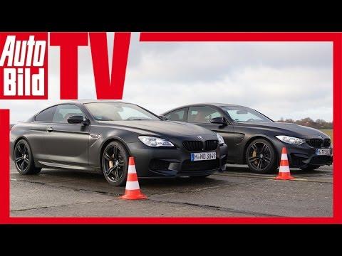 Dragrace BMW M4 vs. BMW M6