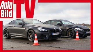 Dragrace BMW M4 vs. BMW M6
