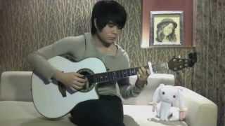 Nagi No Asukara OP 2 Ebb And Flow ( Ray ) - Omo ( Guitar Solo / Fingerstyle )