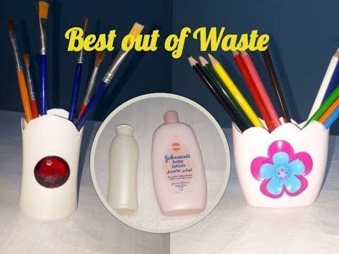 DIY Best out of Waste empty Bottle Craft#Plastic Bottle Craft#Creative ideas with Plastic Bottles