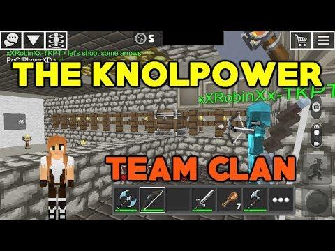 KnolPower Team Clan: Подземный Мир
