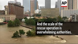 Scenes of Devastation and Heroism in Houston