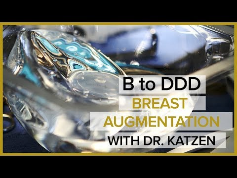 Breast Augmentation With Silicone Implants (B to DDD) - Transformation Tuesday with Dr. Katzen