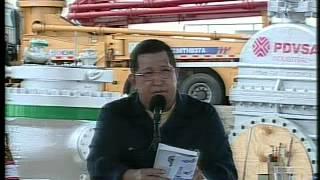 Chávez: Transnacionales se llevaron más de 30 mil millones de barriles de petróleo hasta 1975