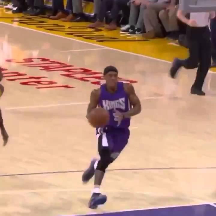 Rajon Rondo WITH THE SLAM DUNK Vs Lakers ᴴᴰ