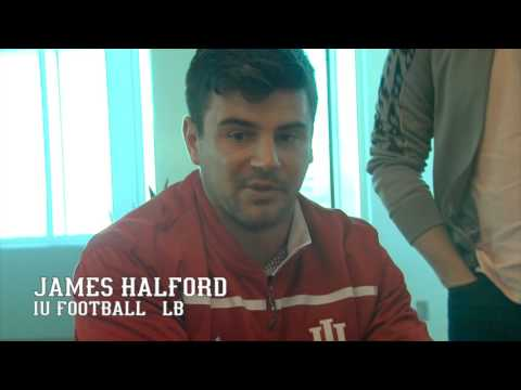 LB James Halford - Iowa Press Conference - 11/2/15