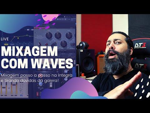 🔴 Mixagem Trap apenas com plugins da Waves [DOWNLOAD MULTITRACKS]