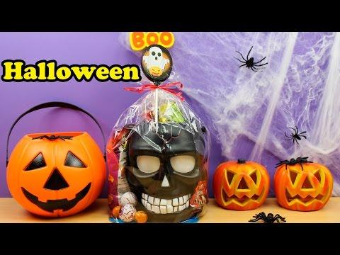 Make Calabaza con Sorpresas y Golosinas de Halloween en español | Halloween para niños Pictures