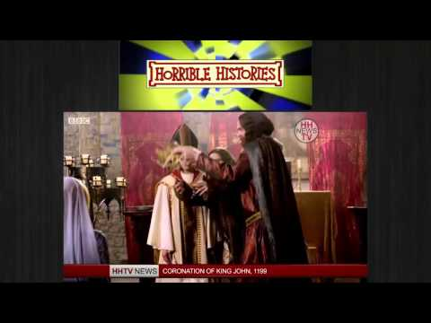 Horrible Histories Coronation of King John ,King John
