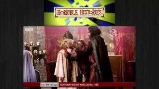 Horrible Histories Coronation of King John ,King John