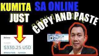 Paano Kumita Sa Online Sa Simpleng Copy And Paste Lang