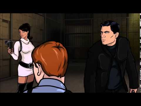 It's scenes like these that make the show Archer phenomenal