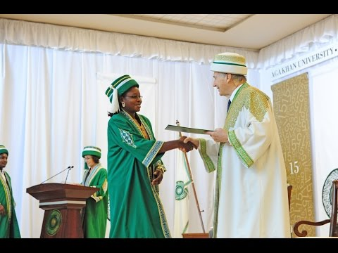 Aga Khan University 2015 Convocation in Dar es Salaam, Tanzania
