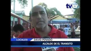 Reinauguración de cancha de futbol rápido en El Transito