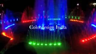 Musical Fountain BY Colordesign India