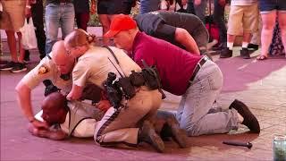 Arrest on Las Vegas Strip