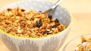 Homemade Granola Recipe In A Mason Jar! | Lighten Up