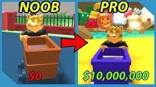 Noob to Pro! 10,000,000 Coins! Unlocked All Areas! Roblox Pet Digging Simulator