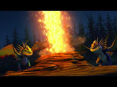 Der Vulkanausbruch | DRAGONS: AUF ZU NEUEN UFERN