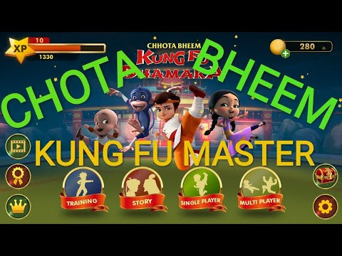 Kung Fu master chota bheem //fighting game chota bheem..