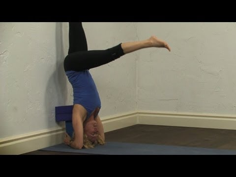 Headstand tutorial with Blocks, Yoga