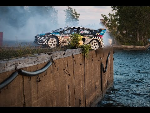 [HOONIGAN] Ken Block's GYMKHANA NINE: Raw Industrial Playgro