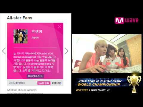 AOA 1st Mini Album 'Short Hair' (2014.07.11) Part 1 [MEET&GREET]