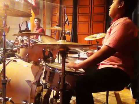 Bersyukurlah ( na na na ) - TW ( Drum Cover by Charlie Wijaya )