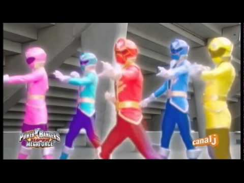 Power Rangers Super Megaforce - Canal J - Promo - Lundi 9 ju