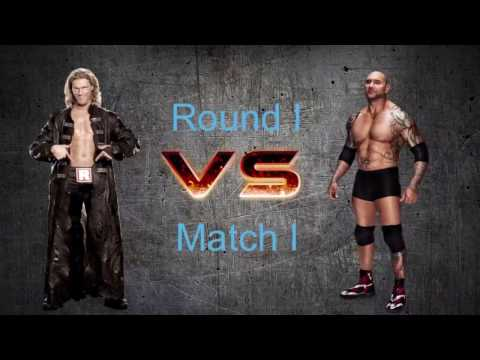 Batista vs Edge | Ruler Of The Ring Round 1 Match 1 | Wwe Mattel Action Figure Stop motion Match