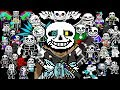 THERES BEEN AN UPDATE WITH EVEN MORE AU SANS!! Ultimate Ink Sans Fight [Full Phase 1 & 2 Complete]