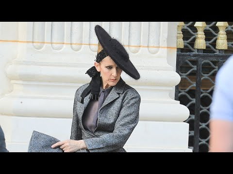 Celine Dion Gives Serious Face and Proves No One Is More Amazingly Extra During Paris Photo Shoot