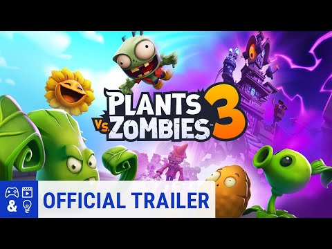 Plants vs. Zombies 3 Launch Trailer