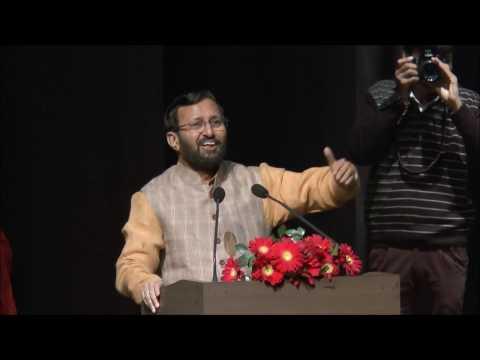 HRM Prakash Javadekar at Navodaya National Integration Meet & Award Function 2016-17