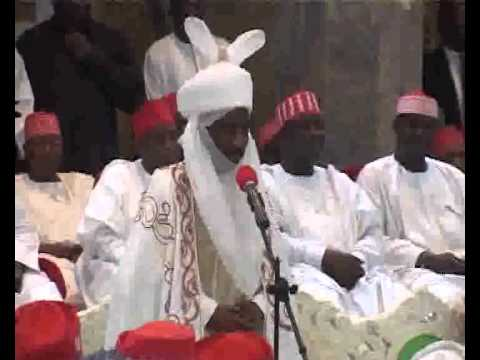 First Juma'at Sermon by The Emir of Kano HRH Alhaji Dr. Muhammadu Sunusi II, CON