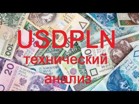 Технический анализ форекс по валютной паре Доллар и Польский злотый USDPLN