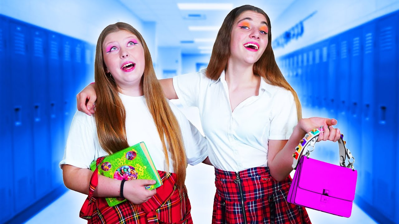 Ты в Старшей Школе VS  в Младшей Школе || Весёлые Ситуации
