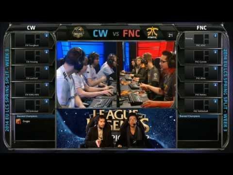 Fnatic vs Copenhagen Wolves - LCS Week 3 Day 1 - Commenté par LRB & Xari + Analyst desk