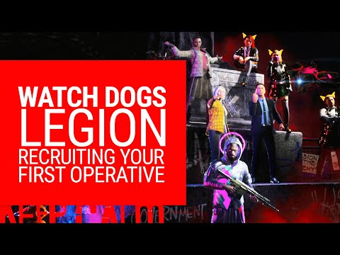 Watch Dogs Legion: How to recruit your first operative