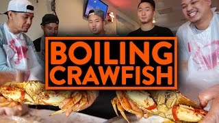 FUNG BROS FOOD: Epic Asian Cajun Seafood Boil! w/ RICHIE LE, TAN, JOHNNY