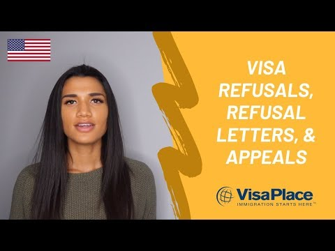 What Is A US Visa Refusal Letter And How To Appeal